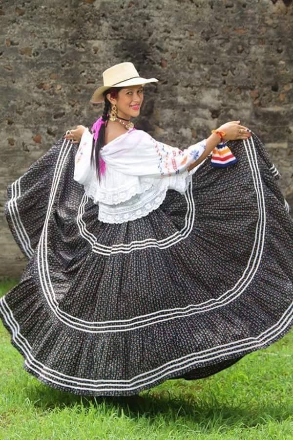 Pollera De Ocu. Panama | Panama Culture | Panama, Panama ...