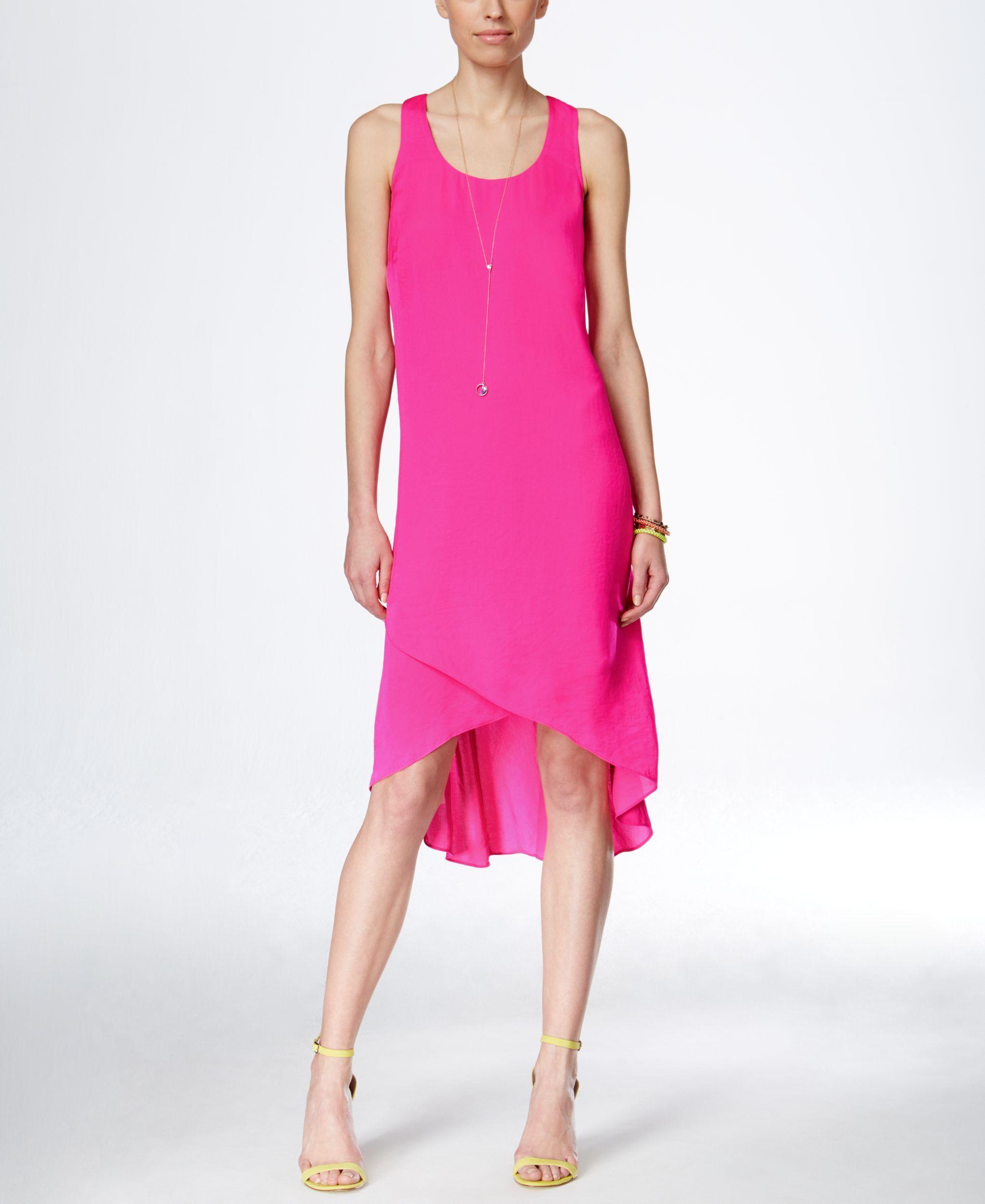84ed4657b2 Inc International Concepts Sleeveless High-Low Dress