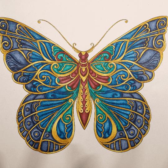 Sandra Schwedt 30 09 2017 Johanna Basford Colouring Gallery