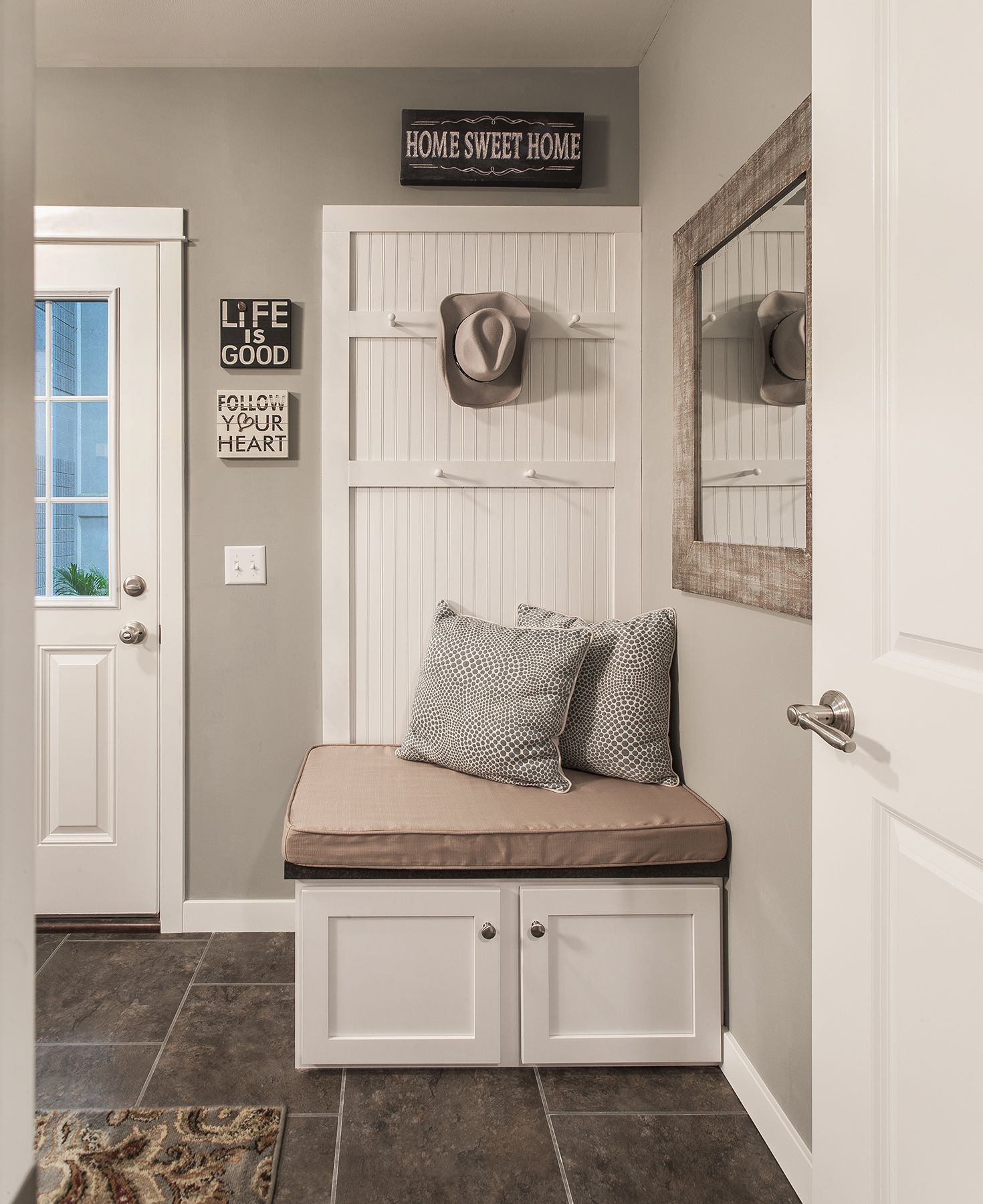 Custom Bench Seat. Love It For A Mud Room Or Utility Room