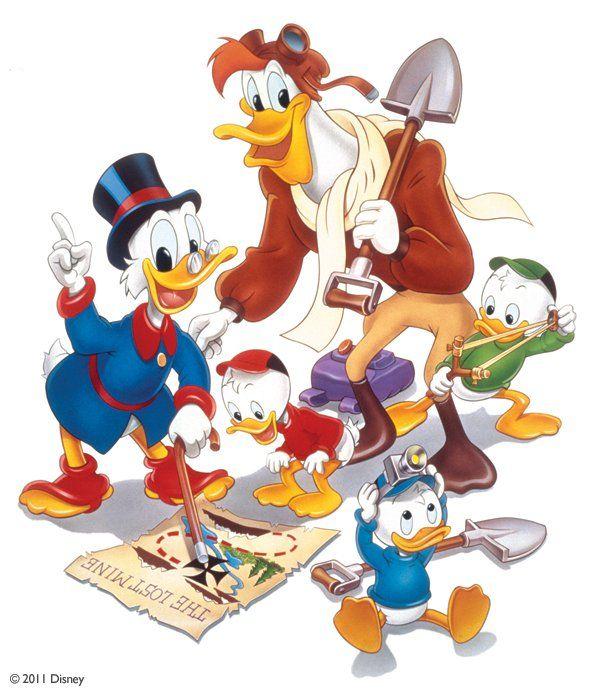 Picsou, Dessin Animé, Disney