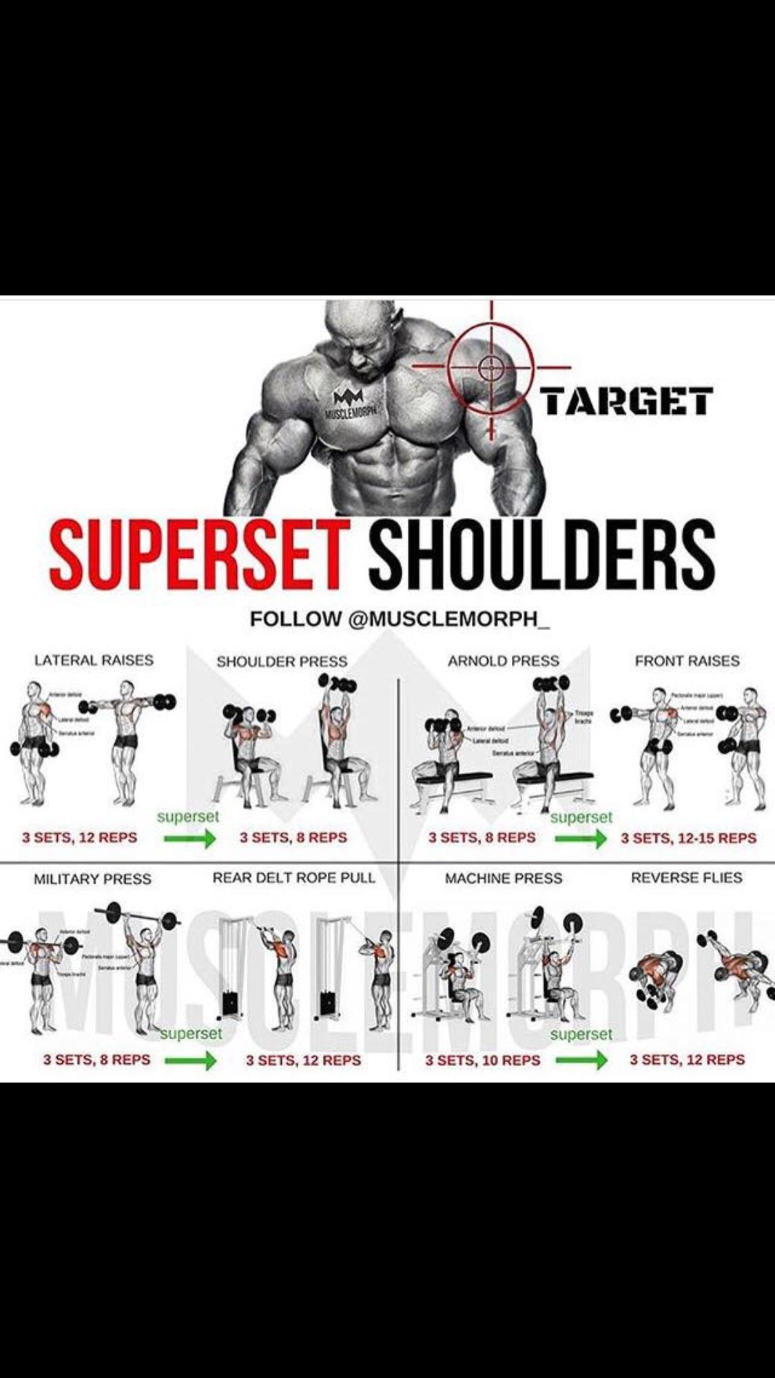 Shoulder Sets Con Imagenes