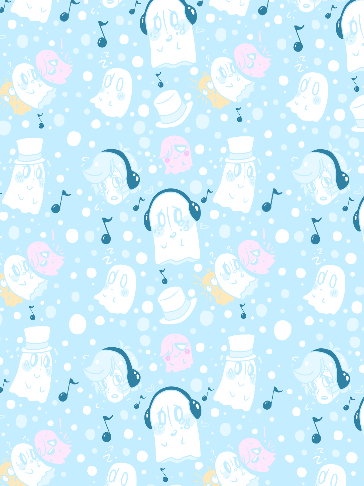 Undertale iphone wallpaper tumblr - Little Napstablook Wallpaper For My Phone P