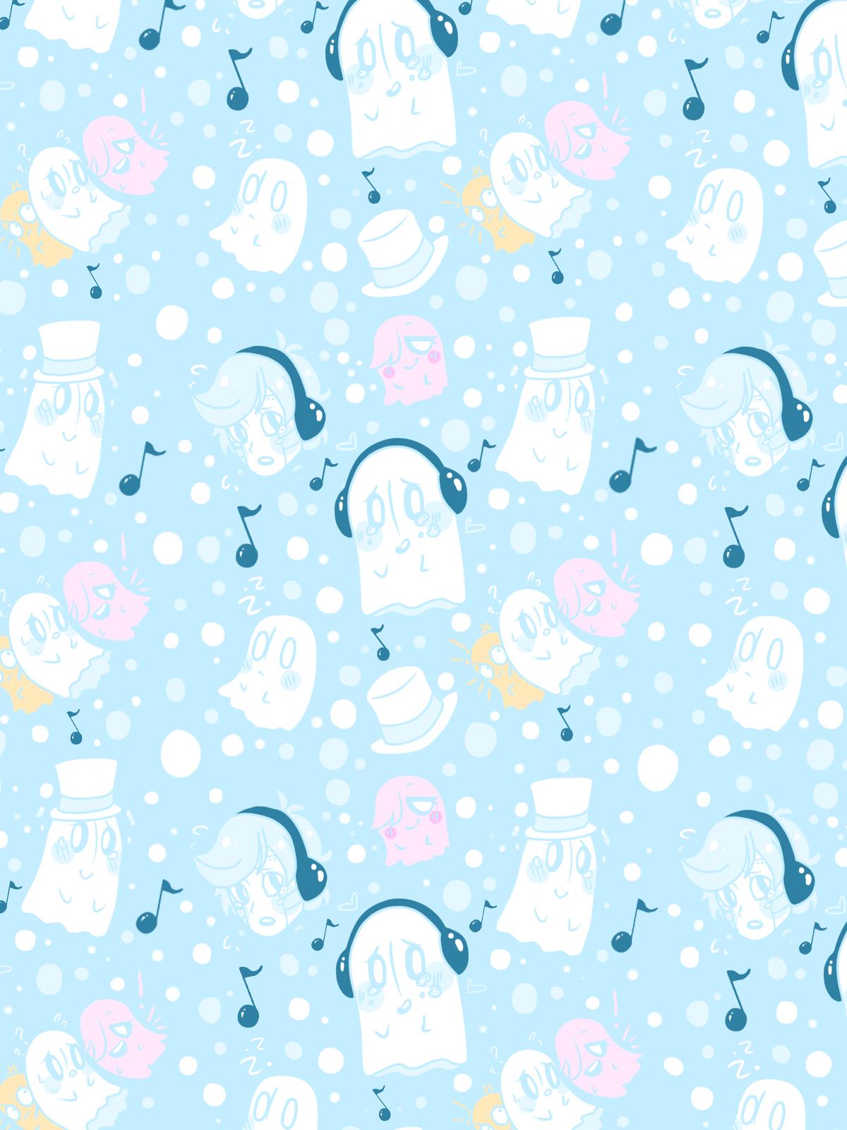Little Napstablook Wallpaper For My Phone P Undertale Wallpaper
