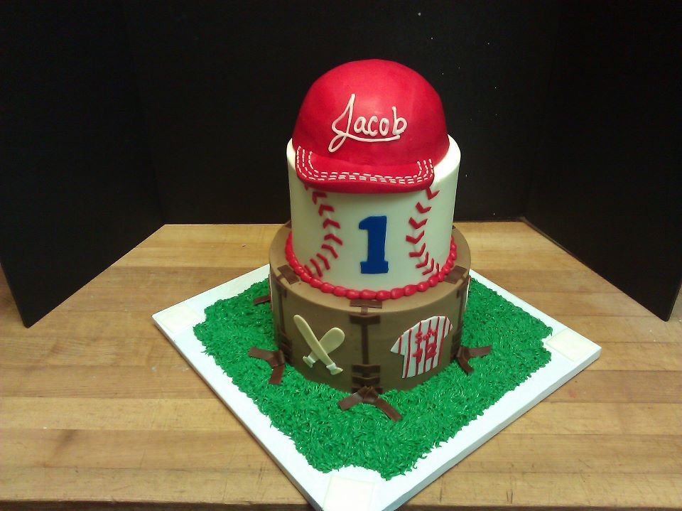 baseball cakes images Baseball cake Outta The Oven Birthday