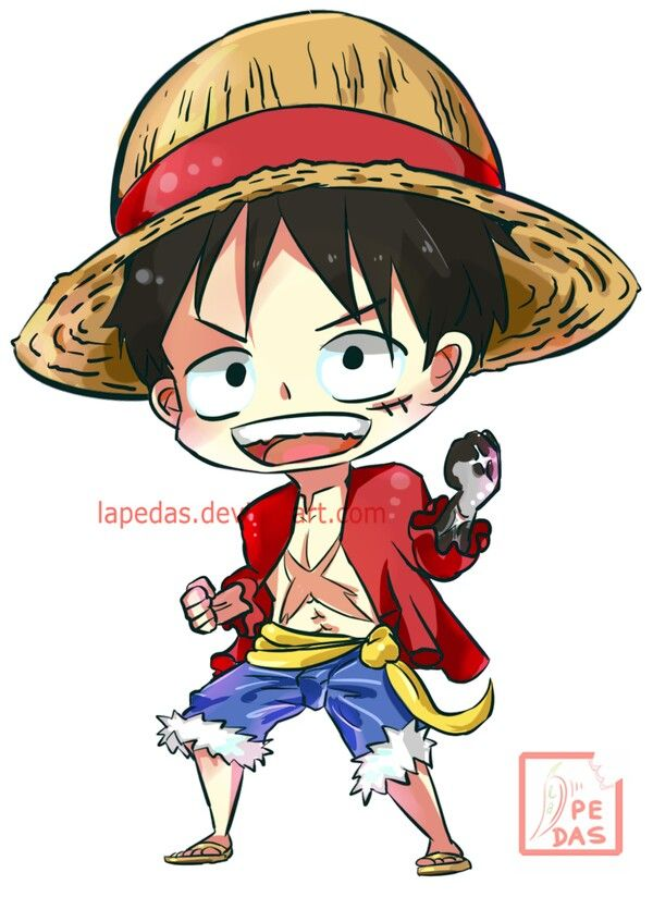 Monkey D. Luffy, cute, chibi; One Piece | Ace, luffy