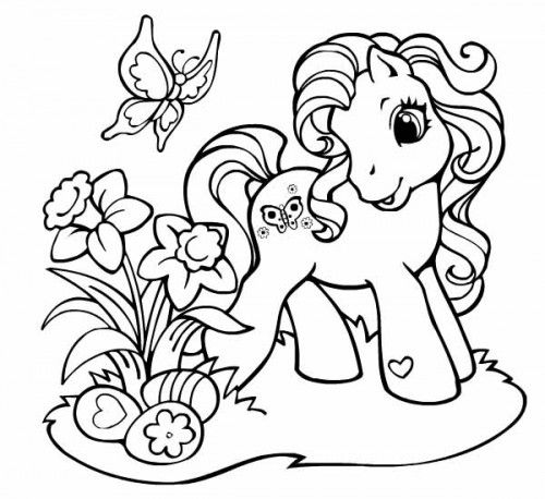 My little pony DVD à gagner + coloriages !   Coloriage poney, Coloriage mon petit poney et Coloriage