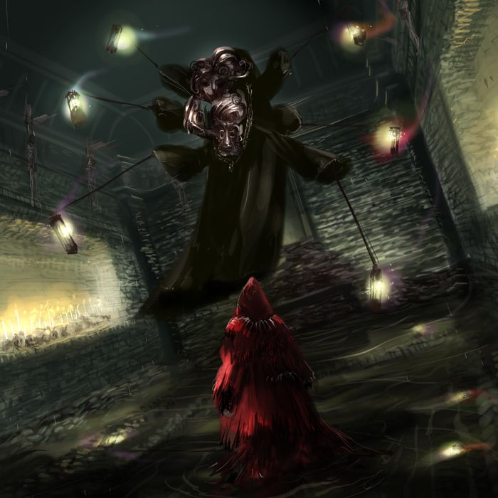 dark souls pinwheel イラスト ファンタジー ダークソウル2