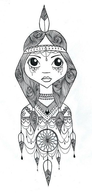 princess tiger lily coloring pages - photo#2
