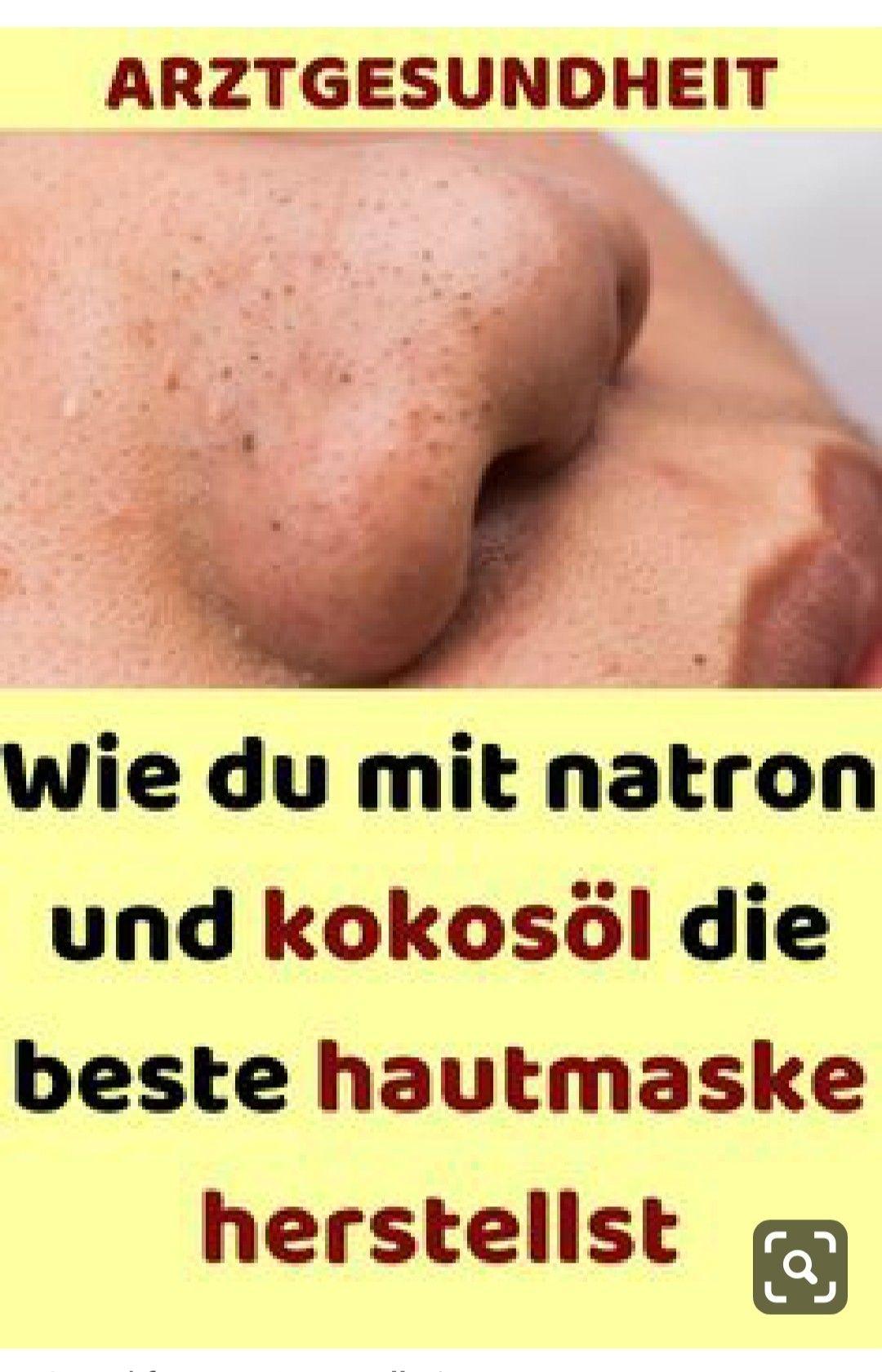 Wie du mit natron und kokosöl die beste hautmaske herstellst#vegan#nutrition#healthcare#medico#...