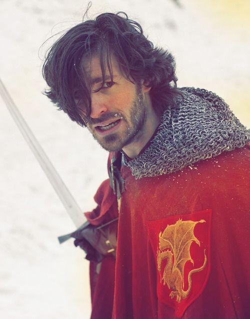 """""""Gillan in Ranger's Apprentice"""" <---- Actually, I'm pretty sure this is Sir Gwaine of Camelot. He would make a good Gillan, though... :)"""