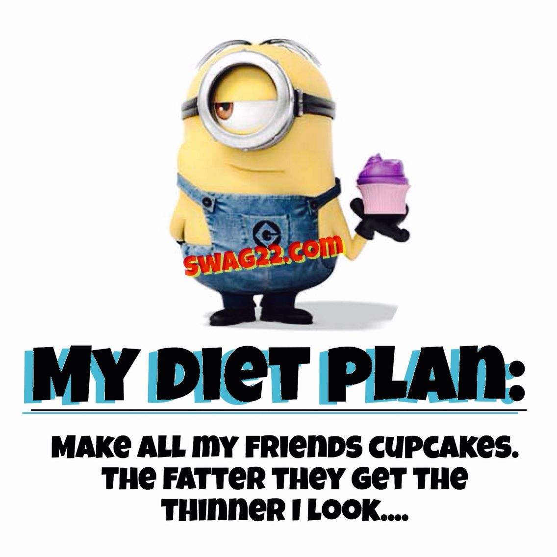 Funny minion picture quotes about diet and dieting habits ...