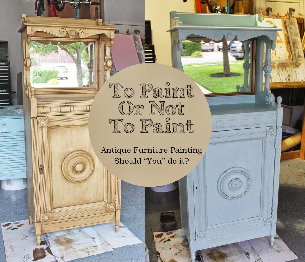 antiquing furniture with paint and stain | To Paint Or Not To Paint- Antique  Furniture - How To Antique Furniture With Paint And Stain Antique Furniture