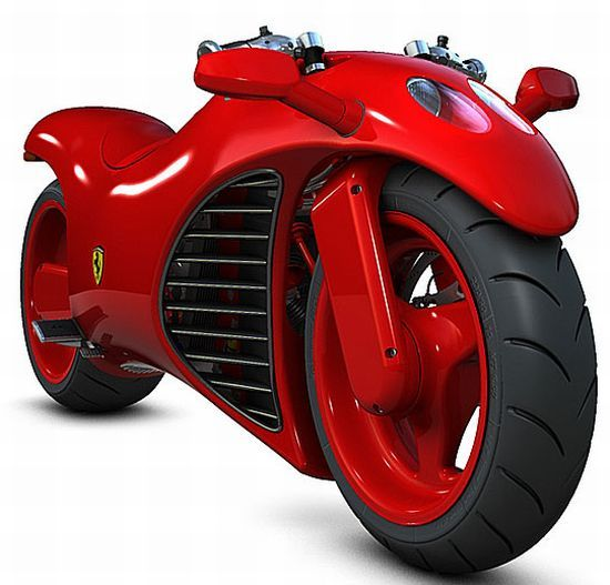 Ferrari V4 Super bike concept