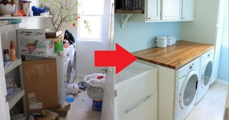 Ein neuer waschraum muss nicht teuer sein. günstige & praktische