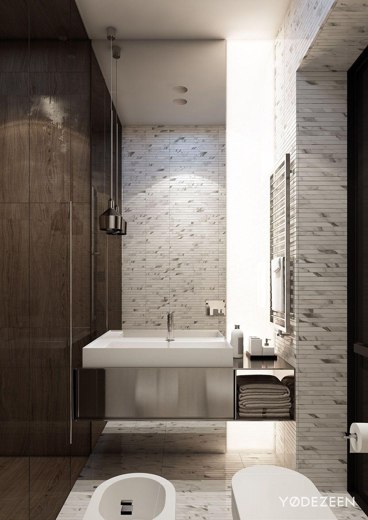 Residence in Baku on Behance Bathroom DesignsToiletInteriorHousePowder