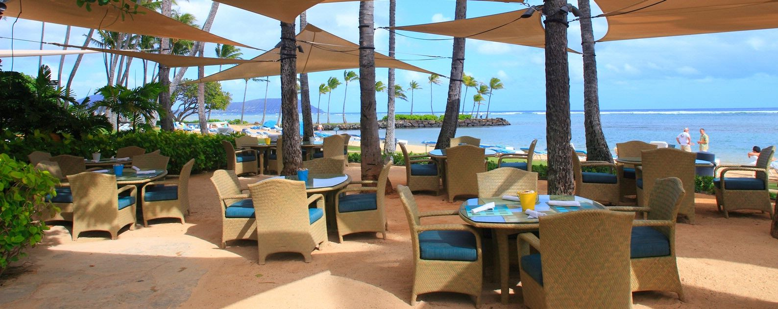 Seaside Grill At The Kahala Hotel Resort Honolulu Hawaii