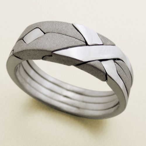 Laser Etched Aquatic Ring | 28 Unique Wedding Rings for Men ...