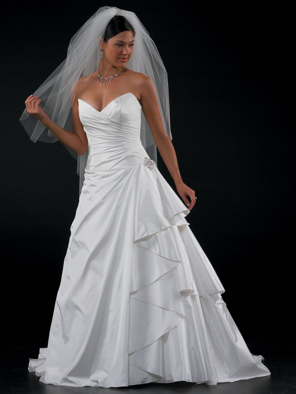 Aline wedding dress with blue accent google search weddings in
