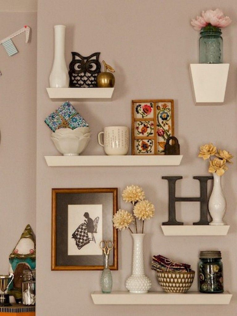 4 Astonishing Ideas Floating Shelves Styling Floors White