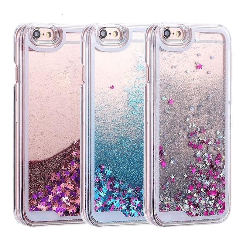 Liquid Quicksand Printed Cases for iPhone 8 & 8 Plus
