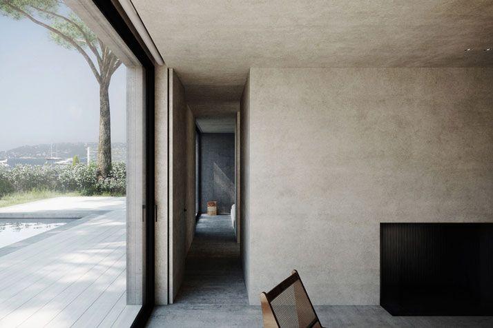 Waanzinnige franse villa met uitzicht op de middellandse zee en de