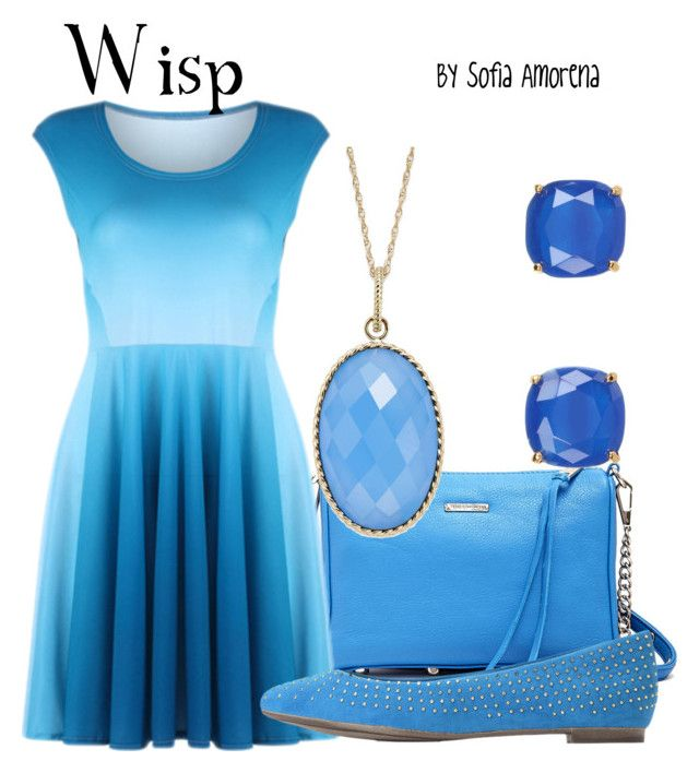 """""""Wisp"""" by sofiaamorena ❤ liked on Polyvore featuring Rebecca Minkoff, Kate Spade and Splendid"""