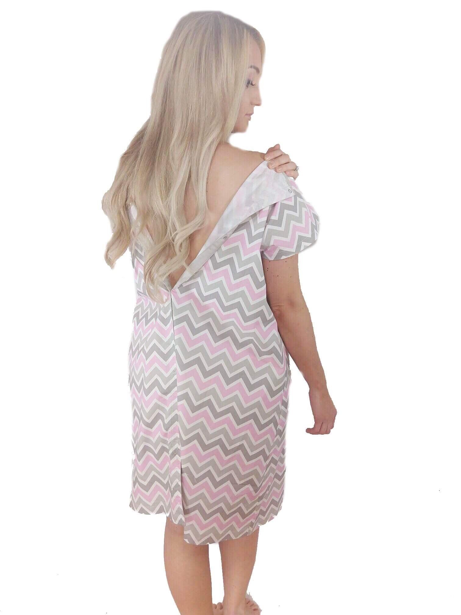 950010283677b Maternity Styles - dressy maternity dresses : LK Designs Maternity Hospital  Gown for Labor and DeliveryLarge/XL Pink *** To see better for this  product, ...