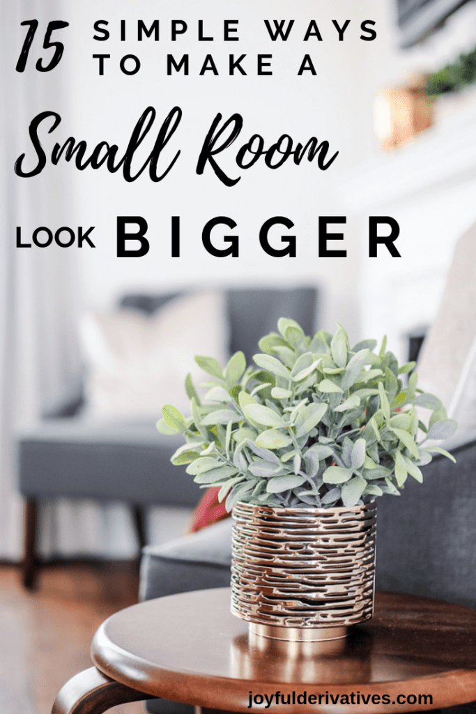 How to Make a Small Room Look Bigger images