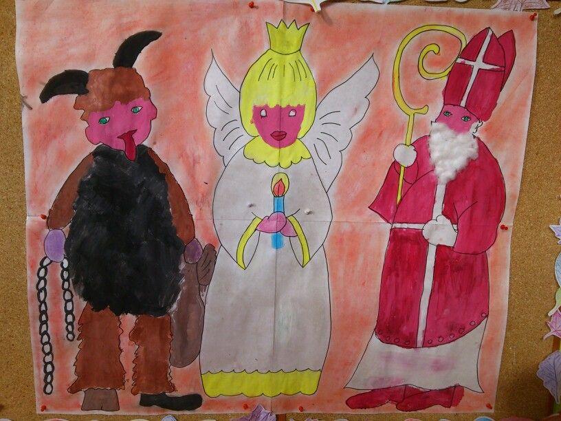 Čert, Mikuláš, Anděl