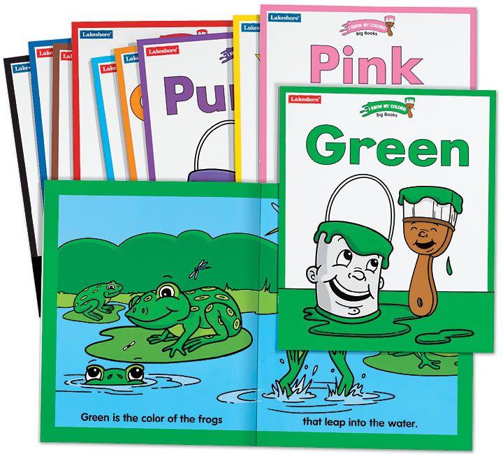 Lakeshore Classroom Decor : I know my colors big books series lakeshore dream