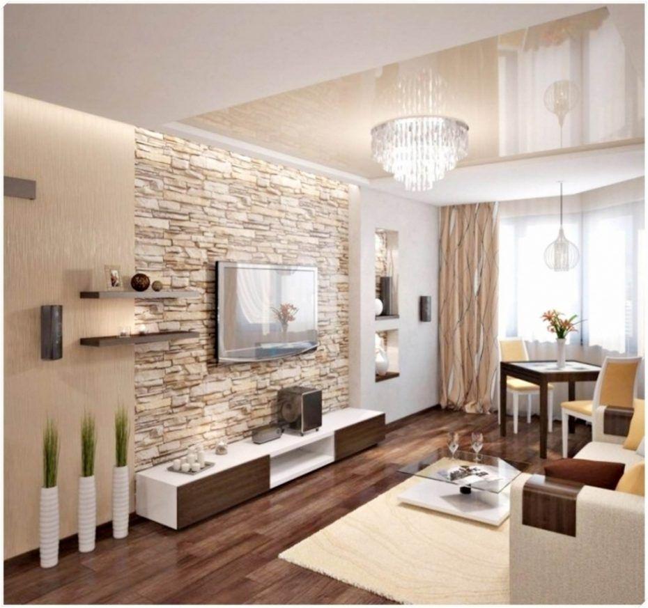 Einrichtungsideen Wohnzimmer Braun Beige