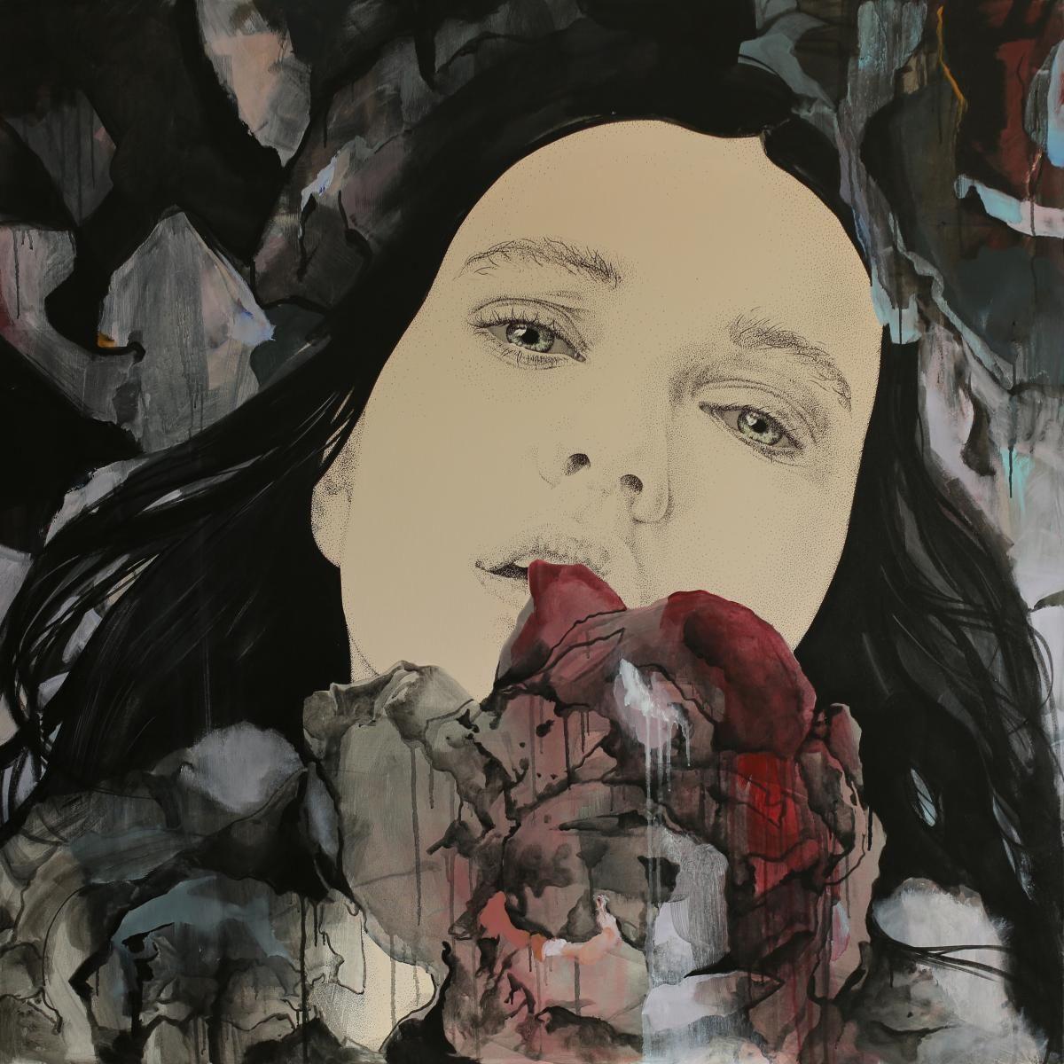 Timisoara, Romania artist Alina Slimovschi #artistaday #artistoftheday #Romania #acrylicpainting #fineart #art #artist