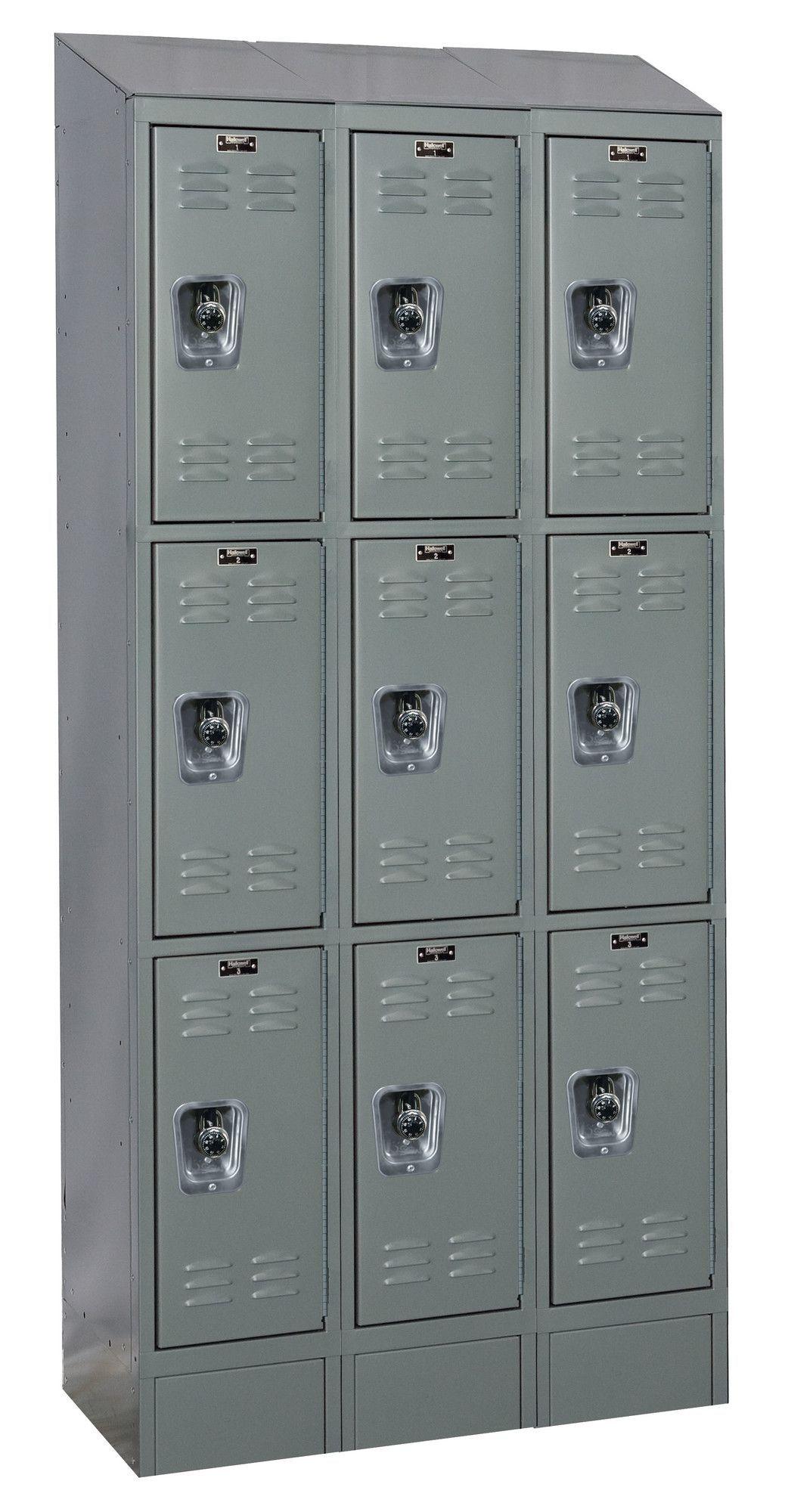 ReadyBuilt II 3 Tier 3 Wide Box Locker