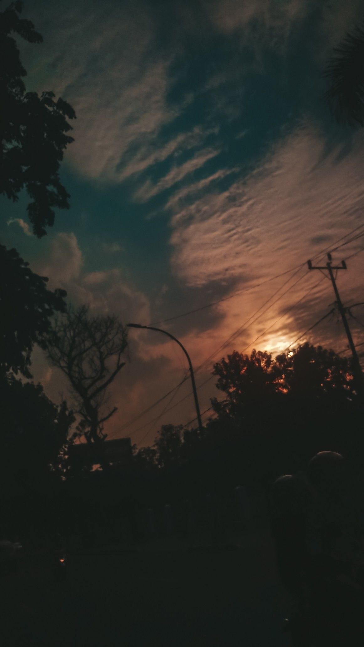 Senja Sunset Wallpaper Pemandangan Hd