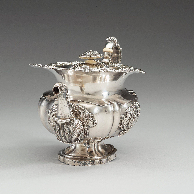 19th century st petersburg photo | 19th century parcel-gilt tea-jug, makers mark of Alexander Korder, St ...