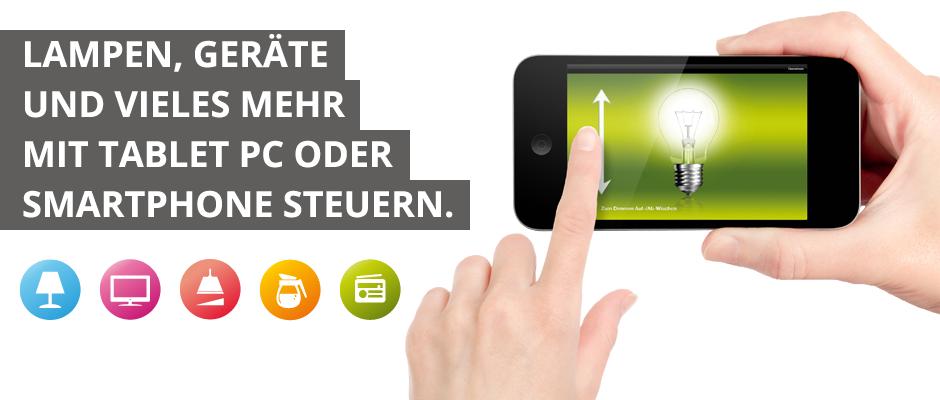 New Hausautomation einfach u g nstig Komfortable Wireless Module die sich per Tablet PC iPad