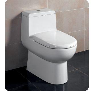 Fresca Ftl2351 Dual Flush Toilet One Piece Toilets Bathroom Furniture Vanity