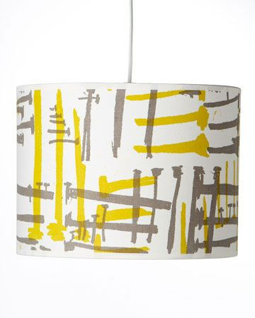 miriam trent screen printed lampshades