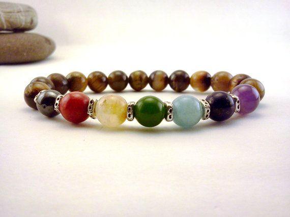 Hey, I found this really awesome Etsy listing at https://www.etsy.com/listing/153264826/gemstone-7-chakra-bracelet-yoga-bracelet