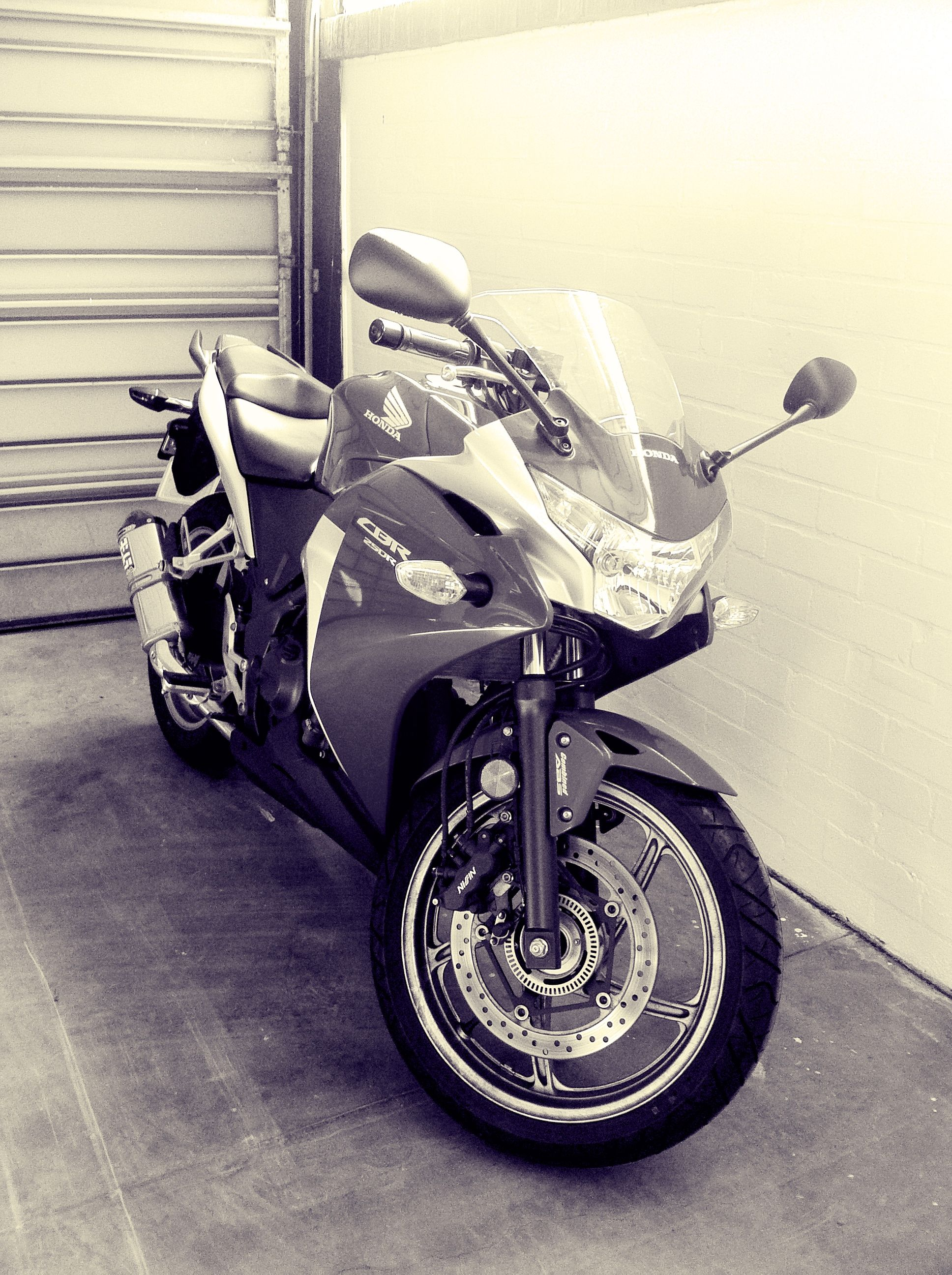 This is my Honda CBR250r. There are many like it, but this one is mine.
