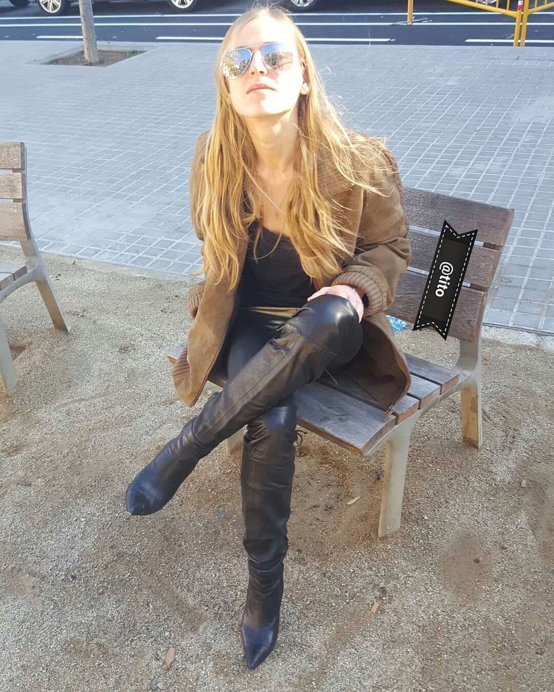 Untitled | otk boots | Flickr | Fashion Stiefel | Overknee