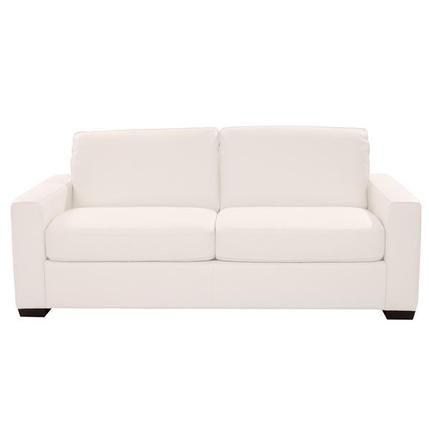 Swell El Dorado Furniture Fiumicino White Leather Full Sofabed Cjindustries Chair Design For Home Cjindustriesco