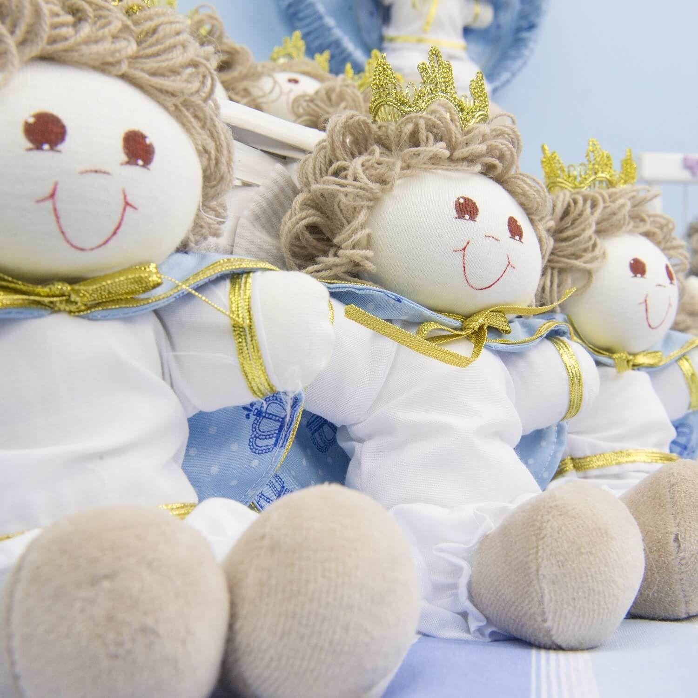 lembrancinhas de maternidade principe princesa coroa