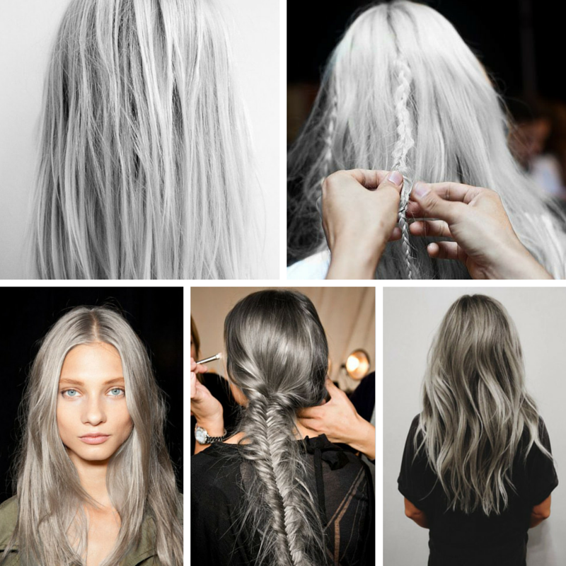 Recreate the look with Leyton House Professional #silver #grey ...