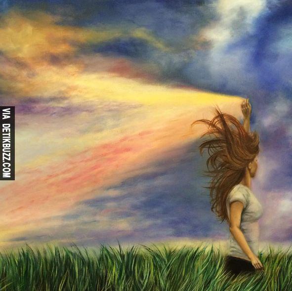 12 Gambar Lukisan Surealisme Yang Luar Biasa Karya Erica Wexler