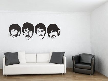 The Beatles Wall Stickers for Sale at Beatles wall, Wall