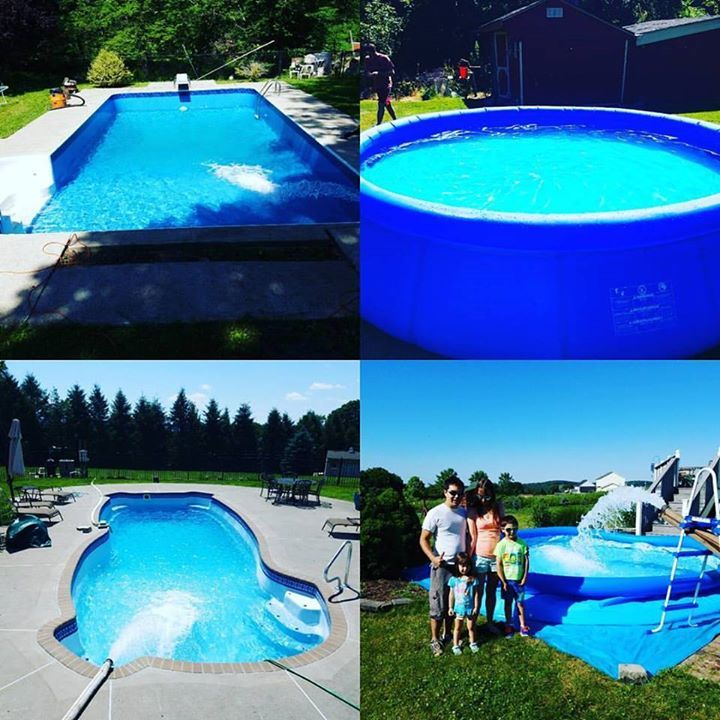 From Blow Up Pools To Inground Pools Go Water King Delivers Crystal Clear Drinking Water To Every One Of Them Whatever You Re W Blow Up Pool Water Delivery Swimming Pools