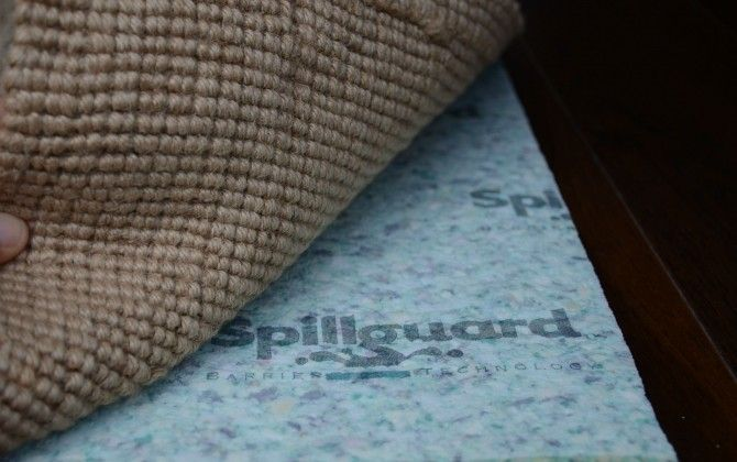 Spillgaurd Waterproof Rug Pad Floor Ideas Carpet Padding