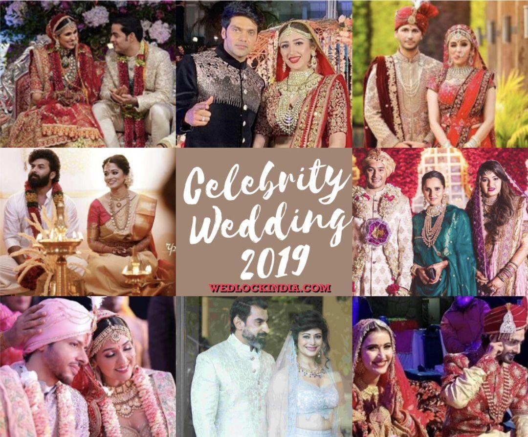 Bollywood Wedding Indian Celebrities Who Got Married In 2019 Celebrity Weddings Celebrity Wedding Photos Bollywood Wedding
